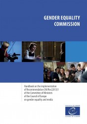 CoE Handbook on gender equality and the media